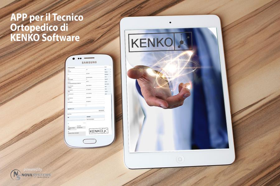 KENKO Software è anche APP per il Tecnico Ortopedico